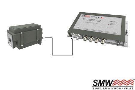 Fiber for satellite receiving